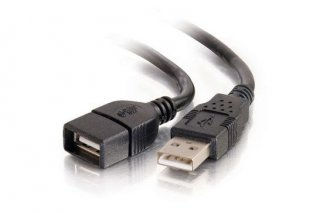 USBEXTAA15 Add-On Computer USB Extension Cable
